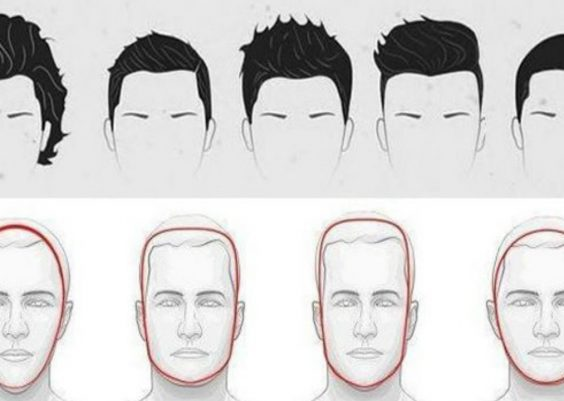 Choose The Best Hairstyle For Your Face Shape For Men : Hairstyle According To Face Shape For Men 1