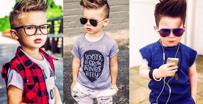 Kid's New Stylish , Funky  Hairstyles || 2018 5