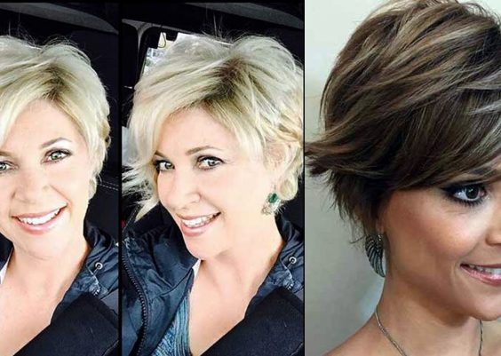 LATEST SHORT HAIRCUTS FOR WOMEN OVER 40 3