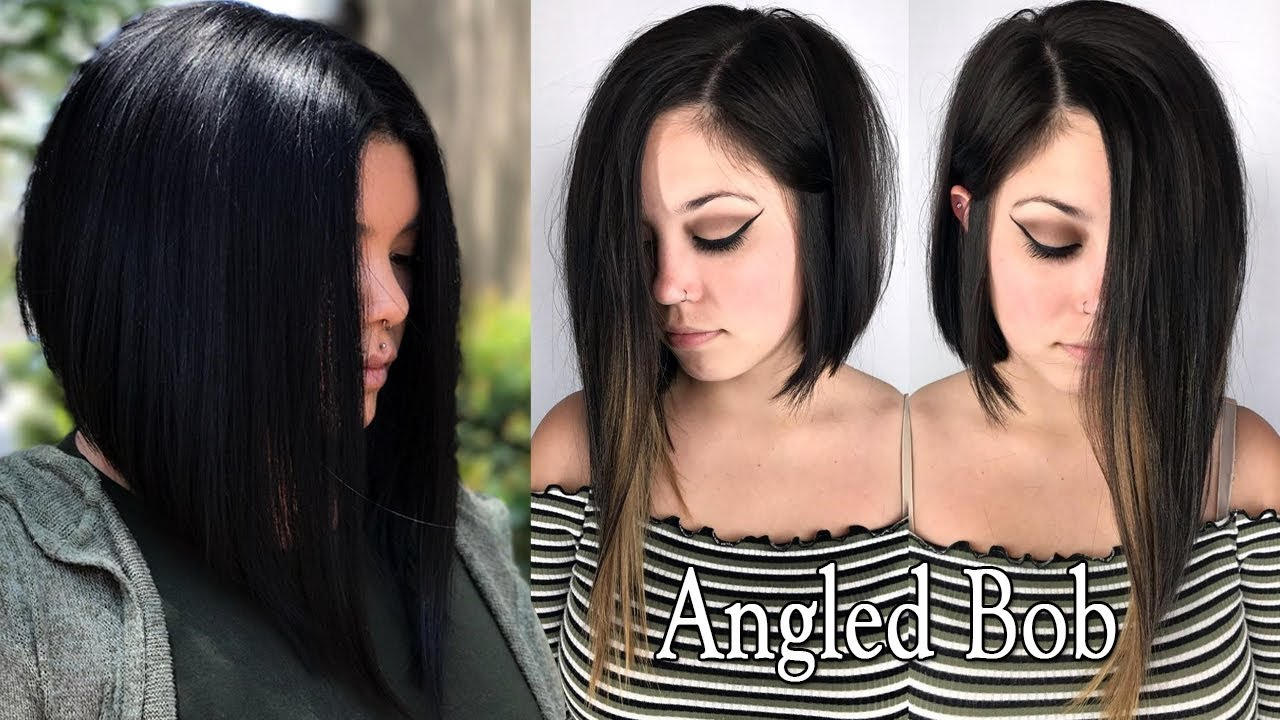 Long Angled Bob Haircuts For Women Long Angled Bob
