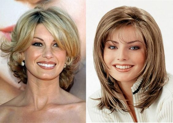 Medium Length Hairstyles for Women Over 40 7