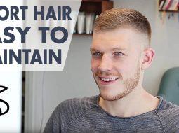 Men's short Hair Inspiration - Easy to Maintain Hairstyle for Men - Slikhaar TV 2