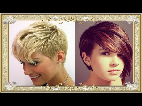 Short haircuts for women 2017- 2018 | Images-Tutorials 11