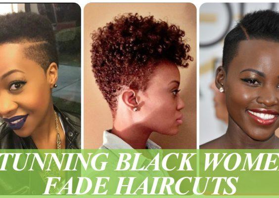 Stunning black women fade haircuts 11
