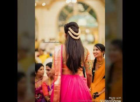Top 30 Indian wedding hairstyles from short to Long hair 2018-19 5