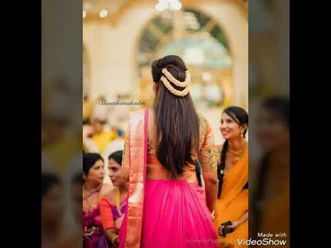 Top 30 Indian wedding hairstyles from short to Long hair 2018-19 13