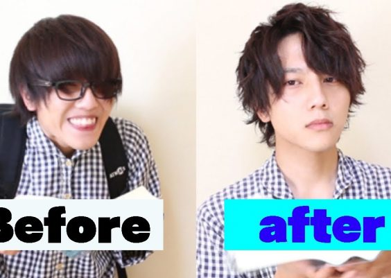 when a loser learns how to set his hair. | Japanese Men's hair style 2