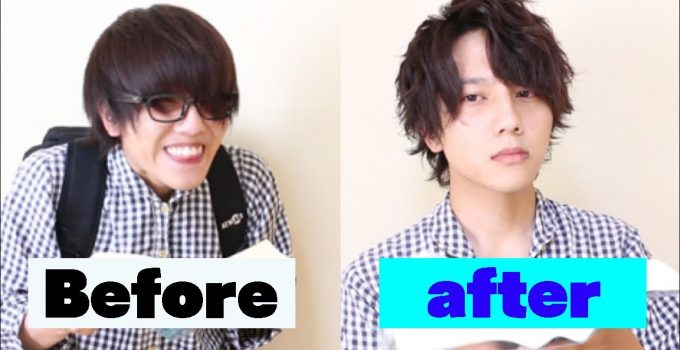 when a loser learns how to set his hair. | Japanese Men's hair style 3