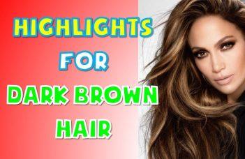40+ BEST Highlights For Dark Brown Hair Women 2018 2019 15