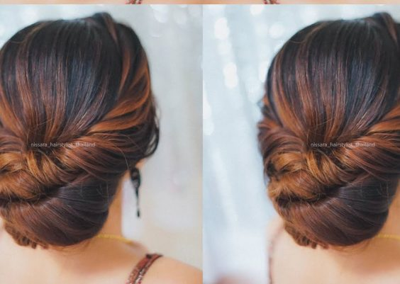 Beautiful Prom Hairstyles 2018    Quick and Easy Hairstyles    Hairstyles for medium hair 12