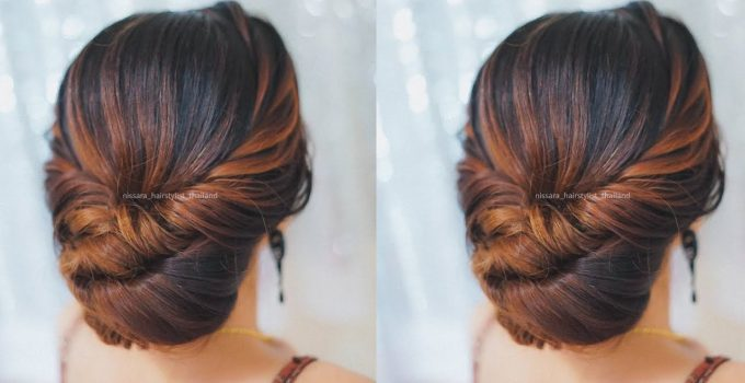 Beautiful Prom Hairstyles 2018 || Quick and Easy Hairstyles || Hairstyles for medium hair 1