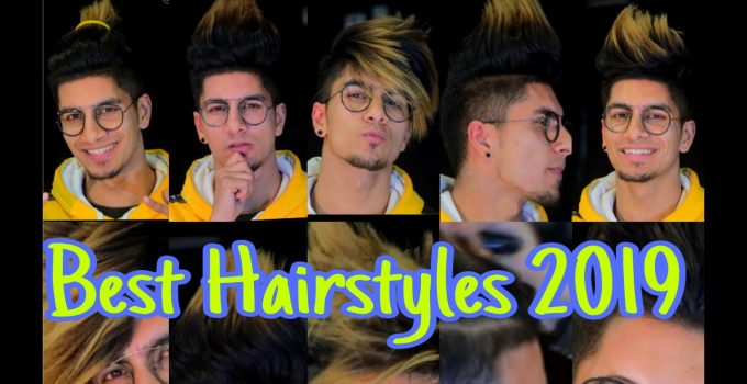 Best Hairstyle/Color for Men's 2019 | Ashish Bhatia | Best HairCuts for BOYS - TOP 6 10