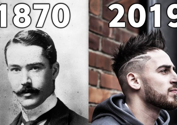Evolution Of Haircut Style 1870 - 2019 12