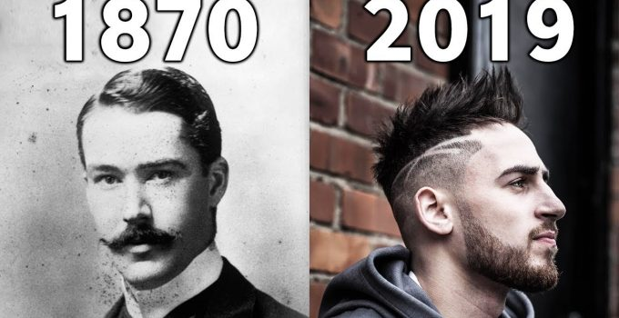 Evolution Of Haircut Style 1870 - 2019 8