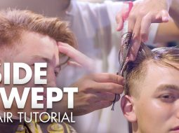 Men Hair 2019 | Side Swept Quiff Tutorial | Hairstyle Inspiration 15