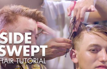 Men Hair 2019 | Side Swept Quiff Tutorial | Hairstyle Inspiration 11