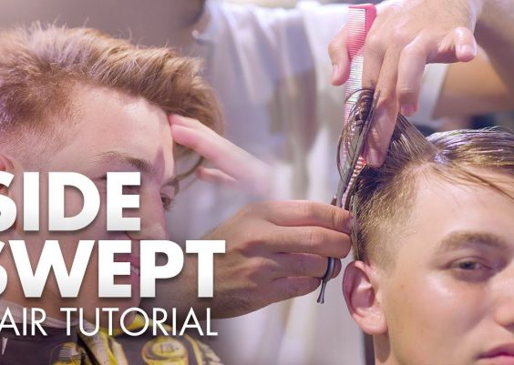Men Hair 2019 | Side Swept Quiff Tutorial | Hairstyle Inspiration 14