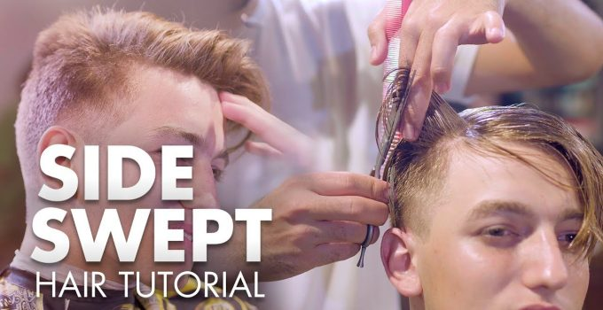 Men Hair 2019 | Side Swept Quiff Tutorial | Hairstyle Inspiration 6
