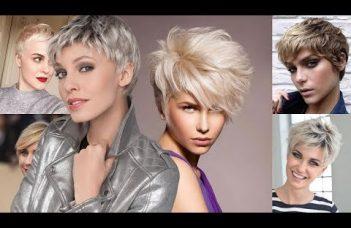 Ultra Short Haircut+ Pixie Hairstyles & Hair Color Ideas for Short Hair 9