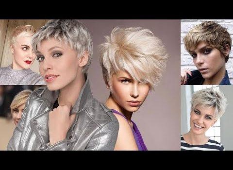 Ultra Short Haircut+ Pixie Hairstyles & Hair Color Ideas for Short Hair 2