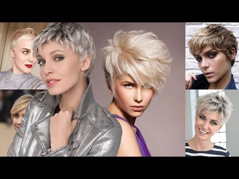 Ultra Short Haircut+ Pixie Hairstyles & Hair Color Ideas for Short Hair 13