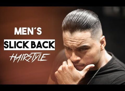 Men´s Slicked Back Hairstyle inspiration 2019. 2